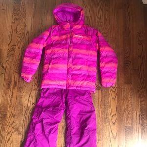 Girls Columbia Snowsuit